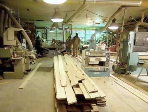 Rough-plank