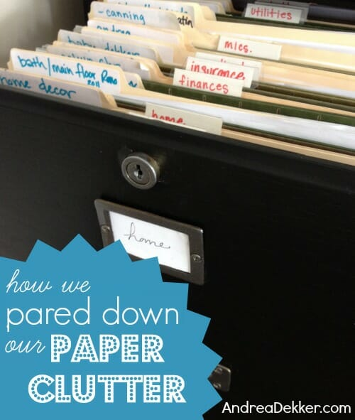 how-we-pared-down-our-paper-clutter
