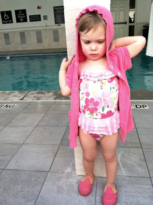 so much fun at the pool