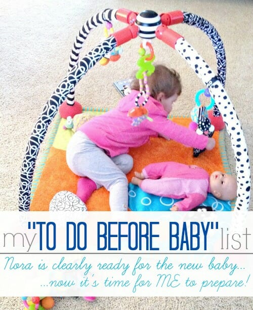 to do before baby