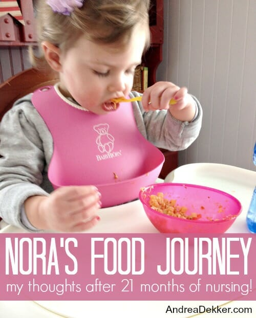 Nora's Food Journey
