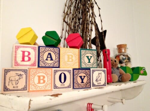 baby boy blocks