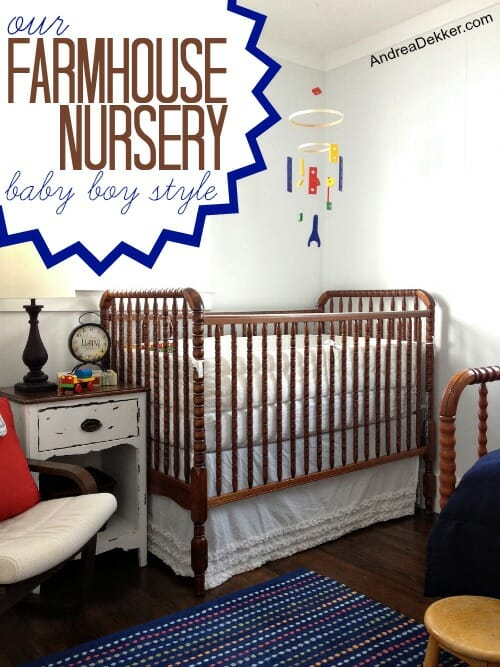 our farmhouse nursery