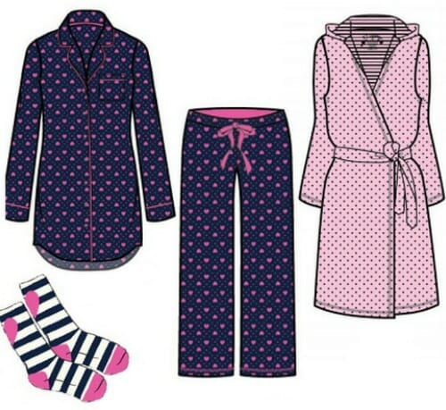 pj salvage pajama set