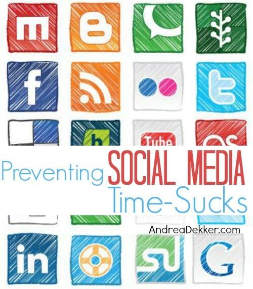 social media time sucks