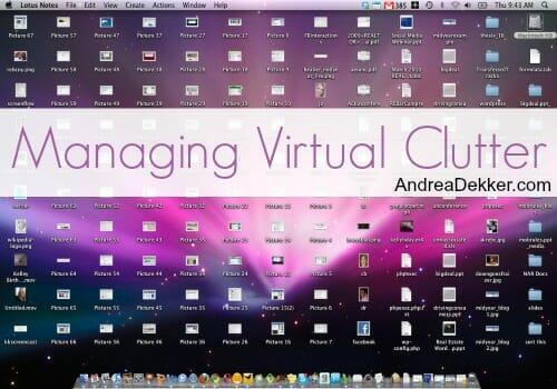 virtual clutter