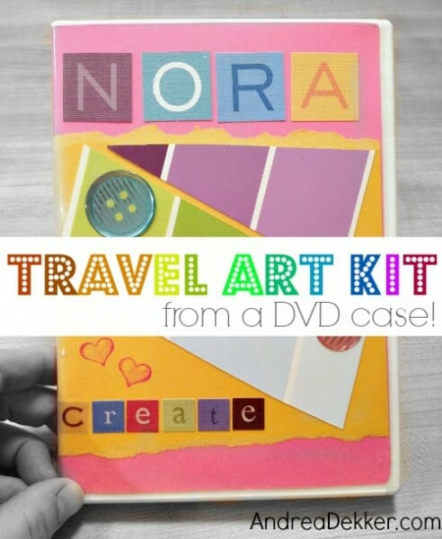 DIY travel art kit