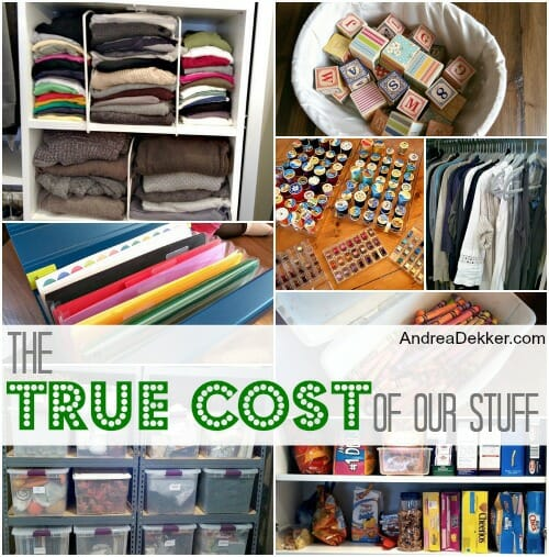 cost of our stuff