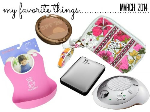 favorite things, march14