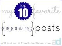 organizing thumb