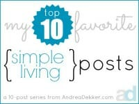 simple living thumb