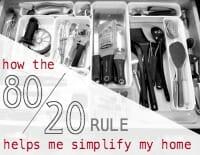 80-20 rule thumb
