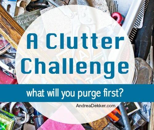 clutter challenge