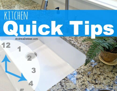 kitchen quick tips