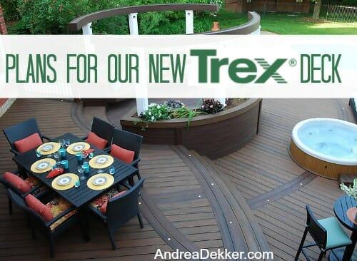 new trex deck
