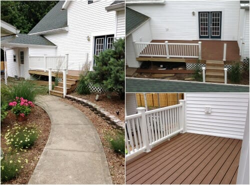 our new Trex deck