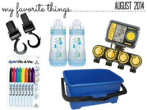 favorite things august