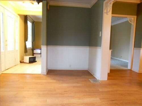 looking into livingroom