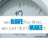 make time thumb