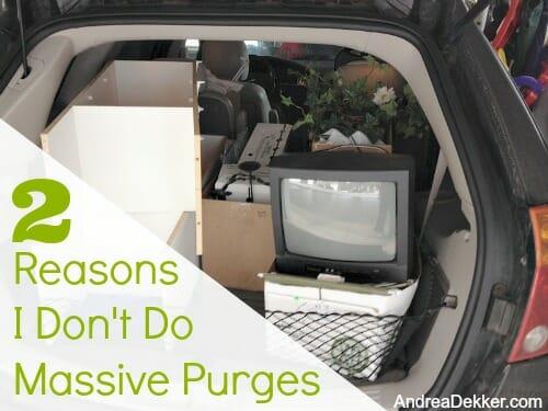 massive purges