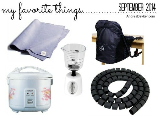 favorite things 9-14