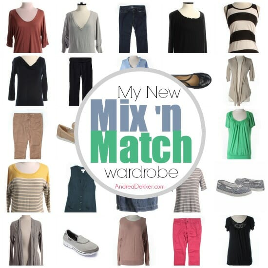 mix n match wardrobe