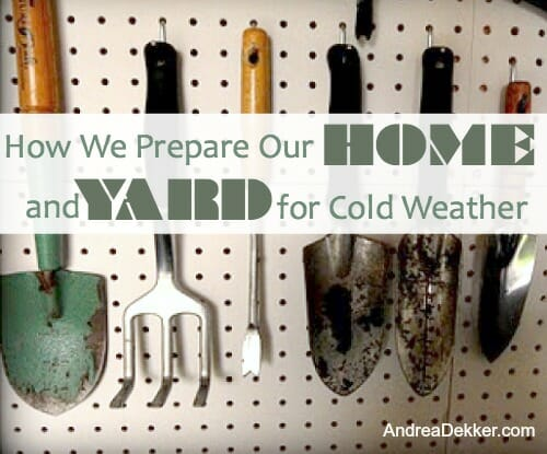 cold weather preparations