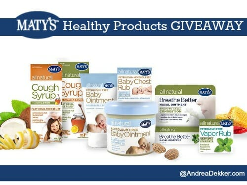 matys healthy product giveaway