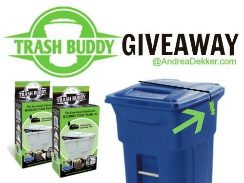 trash buddy giveaway