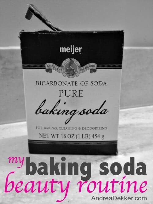 baking soda beauty routine