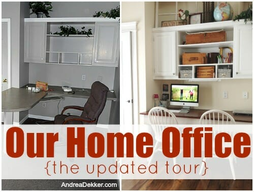 home office updated tour