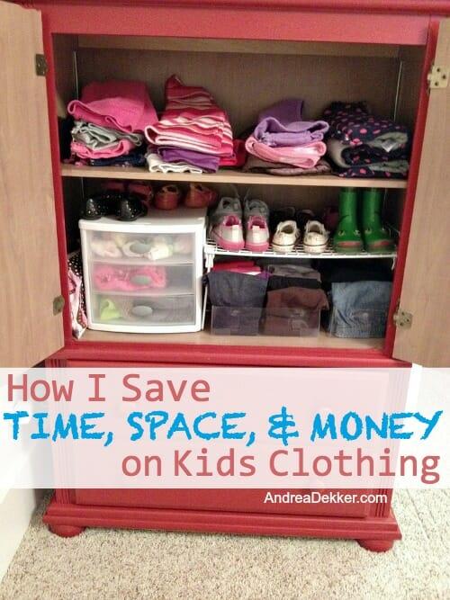 how I save on kids clothing