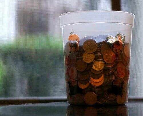 money cup