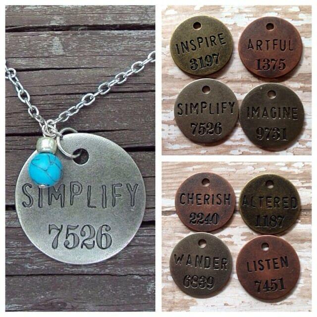 simplify necklace