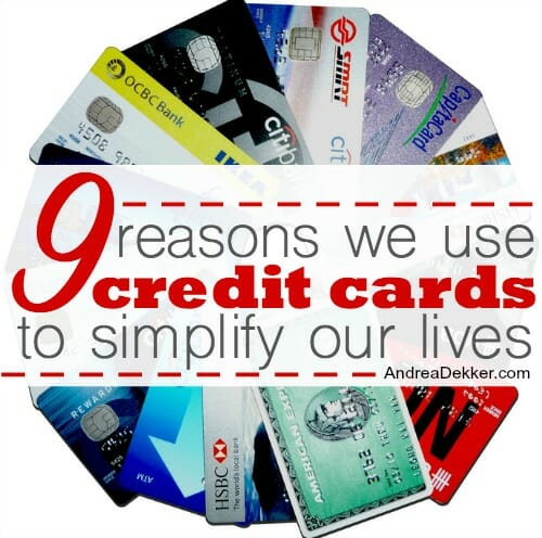 9 reasons we use credit cards to simplify