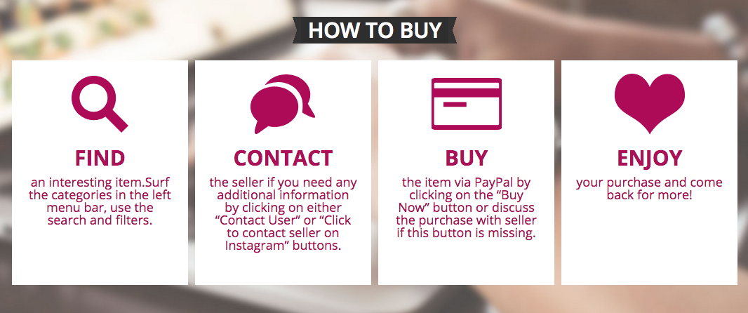 how to buy on inSelly.com