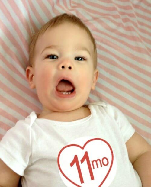 Simon @ 11 months