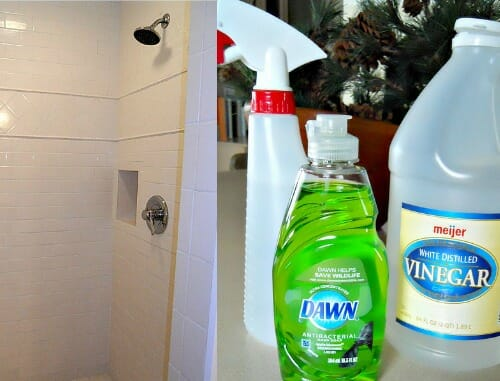homemade shower cleaner
