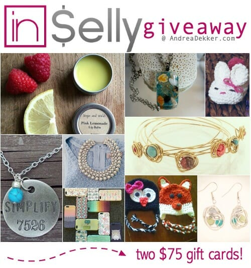 inSelly giveaway
