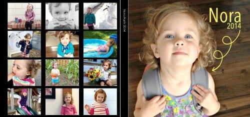 nora's 2014 photo book