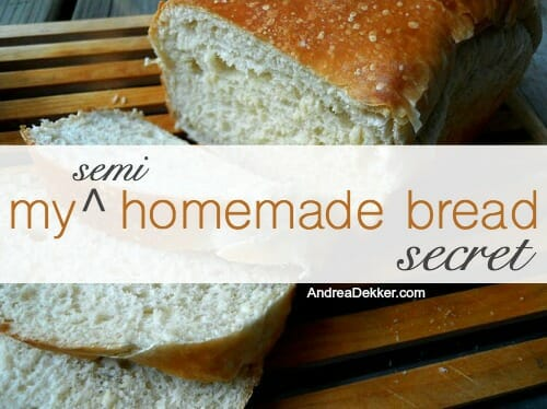 semi homemade bread