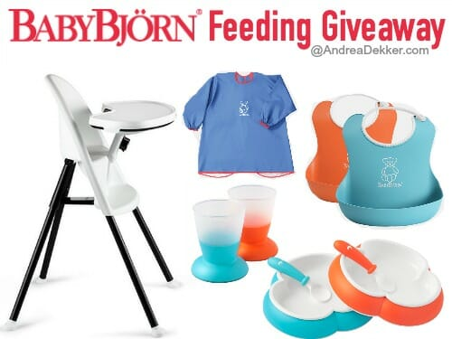 Baby Bjorn Feeding Giveaway