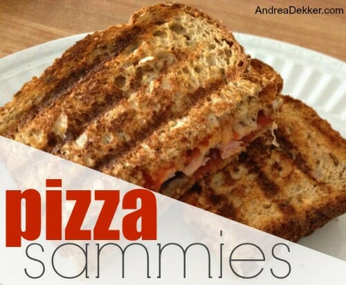 pizza sammies