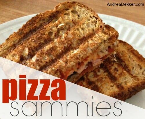 pizza sammies