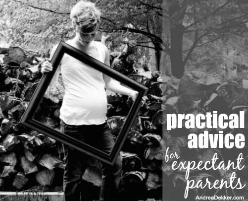 pracical advice for expectant parents