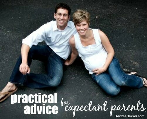 practical advice for expecting parents