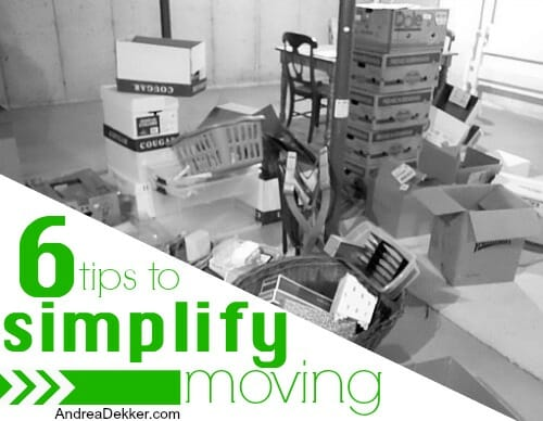 6 tips to simplify moving