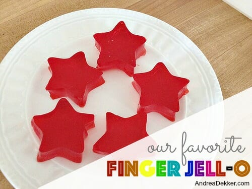 finger jello