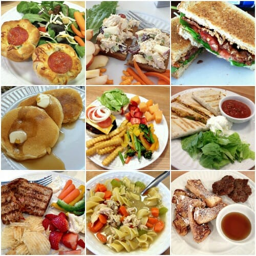 go-to meals