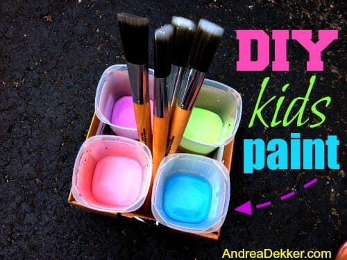 diy kids paint